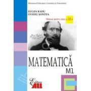 Matematica M1. Manual pentru clasa a XII-a (Radu)