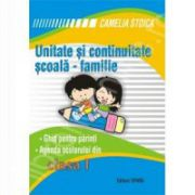Unitate si continuitate scoala - familie