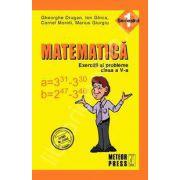 Matematica. Exercitii si probleme. Clasa a V-a, semestrul I