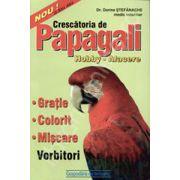 Crescatoria de papagali. Hobby -afacere