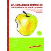 Aplicarea noului curriculum pentru educatie timpurie - O provocare?