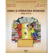 Limba si literatura romana. Manual clasa a IV-a
