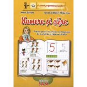 Numere si cifre (Planse pentru formarea conceptului de numar si invatarea cifrelor)