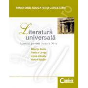 LITERATURA UNIVERSALA - Manual pentru cls. a XI-a