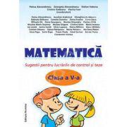 Matematica clasa a V-a, Sugestii pentru lucrarile de control si teze