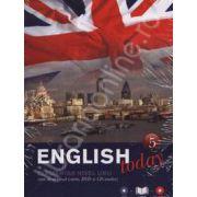 English today incepatori nivelul unu (Volumul 5). Curs de engleza (carte, DVD, CD audio)
