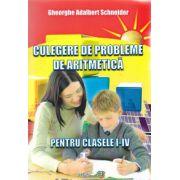 CULEGERE DE PROBLEME DE ARITMETICA PENTRU CLASELE I-IV