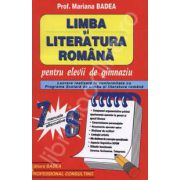 Limba si literatura romana pentru elevii de gimnaziu - Clasele VII-VIII
