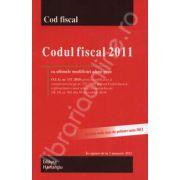 Codul fiscal 2011 - In vigoare de la 1 ianuarie 2011