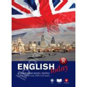English today elementar nivelul patru (Volumul 8). Curs de engleza (carte, DVD, CD audio)