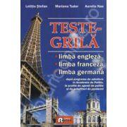 Teste grila limba engleza, franceza, germana