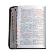 Biblia - Format mijlociu, piele, index, aurita, cu fermoar (Editie de lux 047 TI)