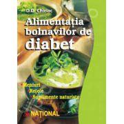 Alimentatia bolnavilor de diabet. Meniuri, retete, suplimente naturiste