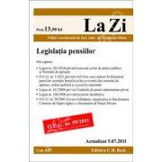 Legislatia pensiilor. Actualizata 05.07.2011 (Cod 445)
