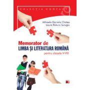 Memorator de limba si literatura romana pentru clasele V-VIII