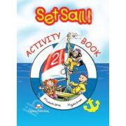 Curs pentru limba engleza Set Sail 2 caietul elevului