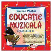 Educatie muzicala. Compact disc audio, clasa a III-a