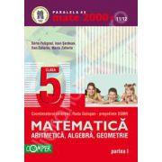 Mate 2000+11/12 clasa a V-a. Aritmetica, algebra, geometrie - Partea I
