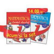 Set caiete de Matematica pentru clasa a I-a (semestrele I si II) - Stefan Pacearca, Mariana Mogos