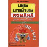 Bac limba si literatura romana. Invatare rapida oral si scris (Mariana Badea)