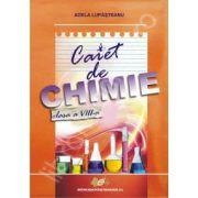 Caiet de chimie pentru clasa a VIII-a