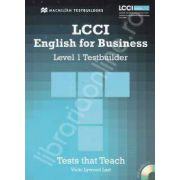 LCCI English for Business with CD. Level 1 Testbuilder