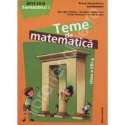 Teme de matematica clasa a VIII-a, semestrul I (2011-2012)