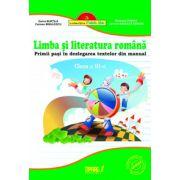 Limba si literatura romana clasa a III-a. Primii pasi in dezlegarea textelor din manual (Verde)