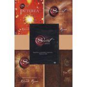 """Colectia,, Secretul"""" de Rhonda Byrne. Set 4 carti si un DVD"""