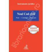 Noul cod civil - Note - Corelatii - Explicatii