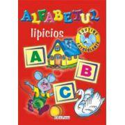 Alfabetul lipicios (Contine autocolante)