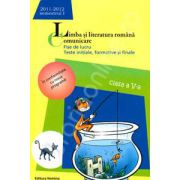 Limba si literatura romana. Comunicare. Fise de lucru, teste initiale, formative si finale. Clasa a V-a, semestrul I (2011-2012)