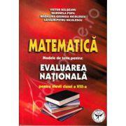 Matematica. Modele de teste pentru evaluarea nationala pentru elevii clasei a VIII-a