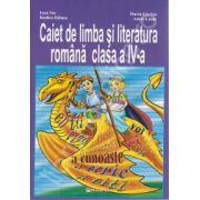 Caiet de limba si literatura romana clasa a IV-a