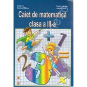 Caiet de matematica clasa a III-a