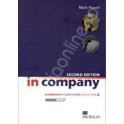 In Company Second Edition Intermediate CEF level B1-B2. Student's Book with CD-ROM