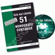 CD - Cele mai cautate 51 monografii contabile