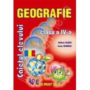 Geografie caietul elevului clasa a IV-a