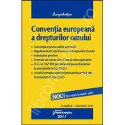 Conventia europeana a drepturilor omului (Actualizat 1 noiembrie 2011)