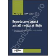 Reproducerea umana asistata medical si filiatia