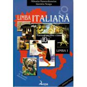 Limba italiana. Manual pentru clasa a X-a, Limba I