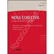 Noul Cod civil editia 2012 si legea de punere in aplicare (Editie de buzunar)
