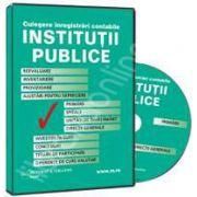CD - Culegere de inregistrari contabile pentru institutii publice