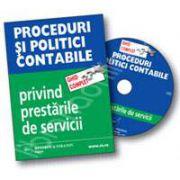 CD - Ghid complet Proceduri si politici contabile privind prestarile de servicii