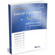 Exercitii si probleme de algebra pentru olimpiade si concursuri, clasele IX-XII