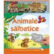 Animale salbatice - carte cu magneti