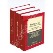 Noul Cod civil. Comentarii, doctrina, jurisprudenta (Volumele I - II - III)