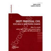 Drept procesual civil. Teste grila si spete pentru examene. Editia a 3-a revazuta conform legii 71/2011