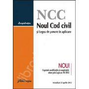 Noul Cod civil si Legea de punere in aplicare (actualizat 23 aprilie 2012)