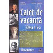 Caiet de Vacanta Matematica pentru clasa a V-a